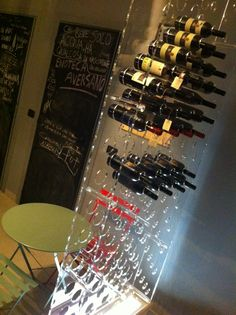 Wine plexiglass RACK