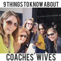 9 Things to Know About Coaches' Wives