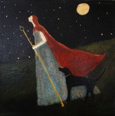 Jeanie Tomanek Willingness to Walk Alone Through a Dark Night, Knowing You Are Held
