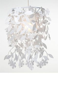 Living with Deborah Hutton for EziBuy - Hanging Flower Lamp Shade - EziBuy Australia $30
