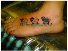 I need a black sheep tattoo on my sleeve
