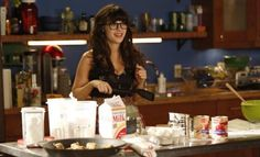 Quirky fun... Zooey Deschanel as Jess Day on NEW GIRL
