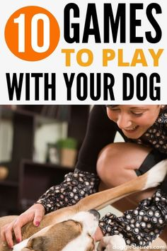 Check out these 10 games to play with your dog. These are easy and fun, and your four legged pooch … Best Dog Toys, Best Dogs, Dog Care Tips, Pet Care, Pet Tips, Dog Health Care, Cat Health, Group Of Dogs, Dog Games