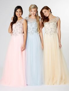 Fabulous style prom dress in choice of 3 colours, by Tiffanys UK