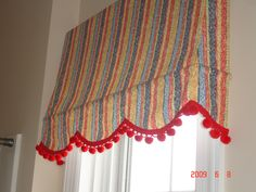 Interior Awning Window Treatment