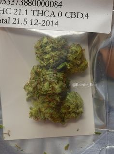 Closer look at the God Bud from JD Farms that just came in :)   #legalweed #wacannabis #i502 #growtheeconomy