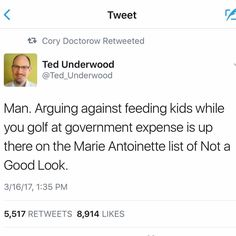 This is EXACTLY what I've been saying (and his dimwit wife isn't doing much better.) Hmmm, what happened to Marie Antoinette again?