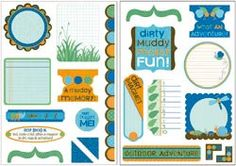 Kaisercraft Jungle Bug  Die Cut Punch Outs by scrapbookroad, $3.49