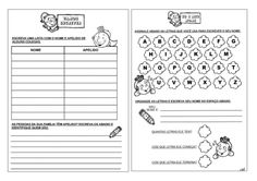 40 atividades para alfabetização inicial