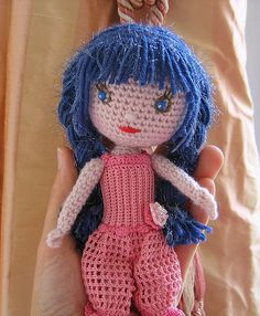 Océane the crocheted doll by biscuitbear, via Flickr