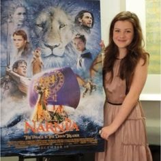 Teen stars who don't suck (Narnia giveaway! Narnia Cast, Narnia 3, Edmund Pevensie, Lucy Pevensie, Narnia Movies, Star Rain, Will Poulter, Georgie Henley, The Valiant