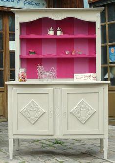 meuble bas style louis xii peint gris patin dessus peint et vieilli en blanc deco. Black Bedroom Furniture Sets. Home Design Ideas