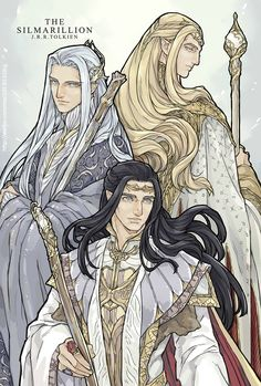 First Generation ElvenkingsThingol - Sindarin king of BeleriandIngwë - King of the Vanyar in ValinorFinwë - King of the Noldor in ValinorSeriously, Thingol is having none of your sass. None of it. Ingwë looks like he invented Elven sass, and Finwë actually looks pretty nice. (Art by: Star)(The only mistake, which is probably not a mistake and just perspective for 1st, 2nd, 3rd, is the Ingwë appears to be taller than Thingol, and at 9′ / 3m tall, Thingol Greycloak was the tallest Elf…