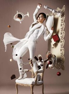sculptures made of chocolate | Gourmet Chocolate: Amazing Zero Gravity Food Art Made of Chocolate