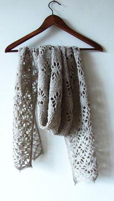 Spiders shawl bt Katya Novikova: we love crochet winter accessories at LoveCrochet!