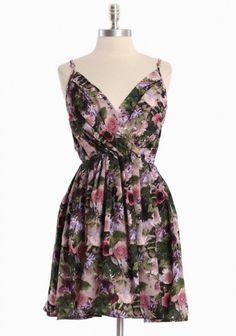 Magdalena Secret Garden Dress By BB Dakota