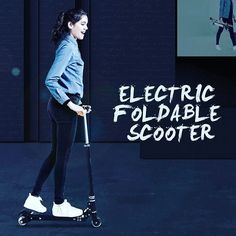 Z8 electric foldable scooter as new product of Airwheel Z series. Looks so mini.