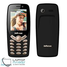 New InFocus Hero Selfie C2 Black Mobile Phone IF9012 Unlocked Dual SIM Sims New, Laptop Parts, Dell Laptops, Power Cable, Dual Sim, Smartphone, Hero, Selfie, Black
