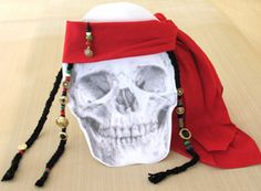 Jack Sparrow's Bandana- possible teen craft for Talk Like a Pirate Day September 19