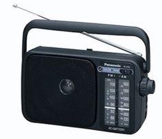 Panasonic 2400EB-K Portable Radio by Panasonic. $45.91
