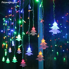 Christmas 2.5m 10leds Butterfly Shaped Led Lights String Home Garden Hanging Ornament Lighting New Year Christmas Decoration For Home