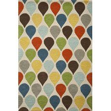 Eli Hand-Tufted Green/Blue/Beige Area Rug