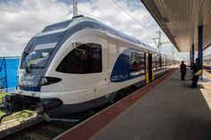 Presentado el nuevo tren #Flirt de #Stadler para Hungría #railway #rollingstock