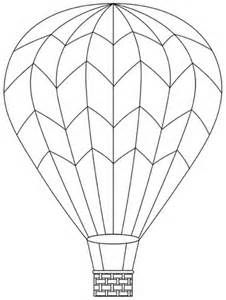 Hotairballoon Coloring Pages Free Printable For Kids