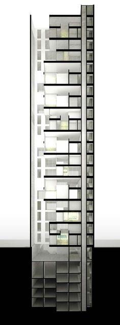 Sky Condos by  DCPP Arquitectos