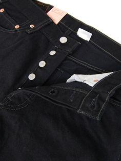 Levi's - 501 #005010660 Black #Fashion #American