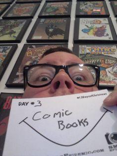 Comic Books make Dan Smile!