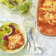 ESSEN & TRINKEN - Low-Carb-Lasagne Rezept