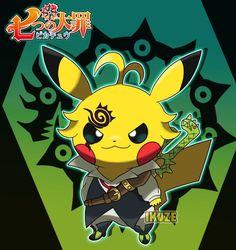 This Artist Turns Pikachu Into Your Favourite Anime Cosplay ⋆ Anime & Manga