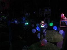 glow in the dark play & DIY LED balloons
