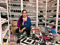 My Sneaker Closet Tour - nitrolicious.com