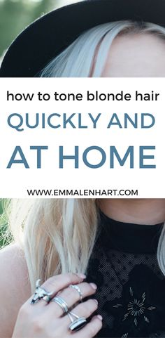 How to Tone Hair at Home on a Budget! Find out how to fix brassy hair at home without going to the salon and spending a lot of money. Also see purple shampoo before and after's and recommendations.