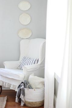 How to Sew a Slipcover for a Wingback Chair