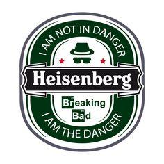 Heisenberg - The Danger Shirt Breaking Bad Party, Breaking Bad Shirt, Breaking Bad Series, Heisenberg, Best Tv Shows, Favorite Tv Shows, Braking Bad, Poster, T Shirt