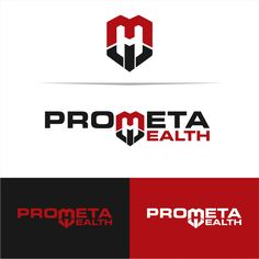Create a logo that gives the feel of a global brand for the website Prometa Health by D26 PDI