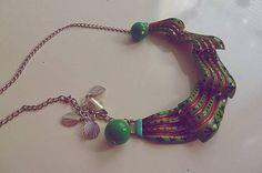 Martinuska / Zvlnený zelený náhrdelník