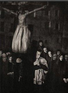 De la España mística - José Ortiz Echagüe procesion 1910