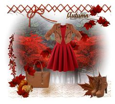 autumn fashion by katie-styles4u on Polyvore featuring Chicwish, Richcoco and MICHAEL Michael Kors