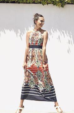 perfect vacation halter dress