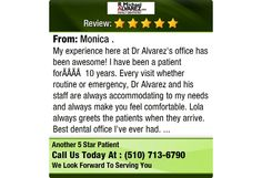 My experience here at Dr Alvarez's office has been awesome! I have been a patient...