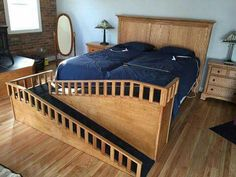Pet accessible bed ramp
