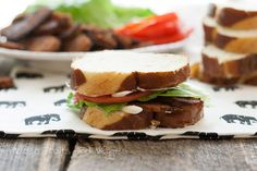 Tempeh, Lettuce, and Tomato | Hidden Fruits and Veggies