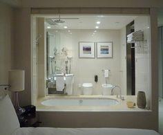 Bathroom/bedroom interface by get down