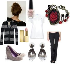 """""""buisness casual"""" by rockerchic7 on Polyvore"""