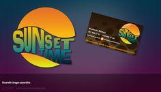Sunset Time, desarrollo de imagen corporativa.