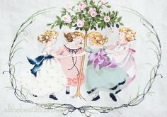 :: Crafty :: Stitch ::  Ring around the Rose Tree (Mirabilia)
